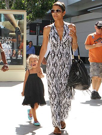 Halle Berry and daughter Nahla...adorbs!