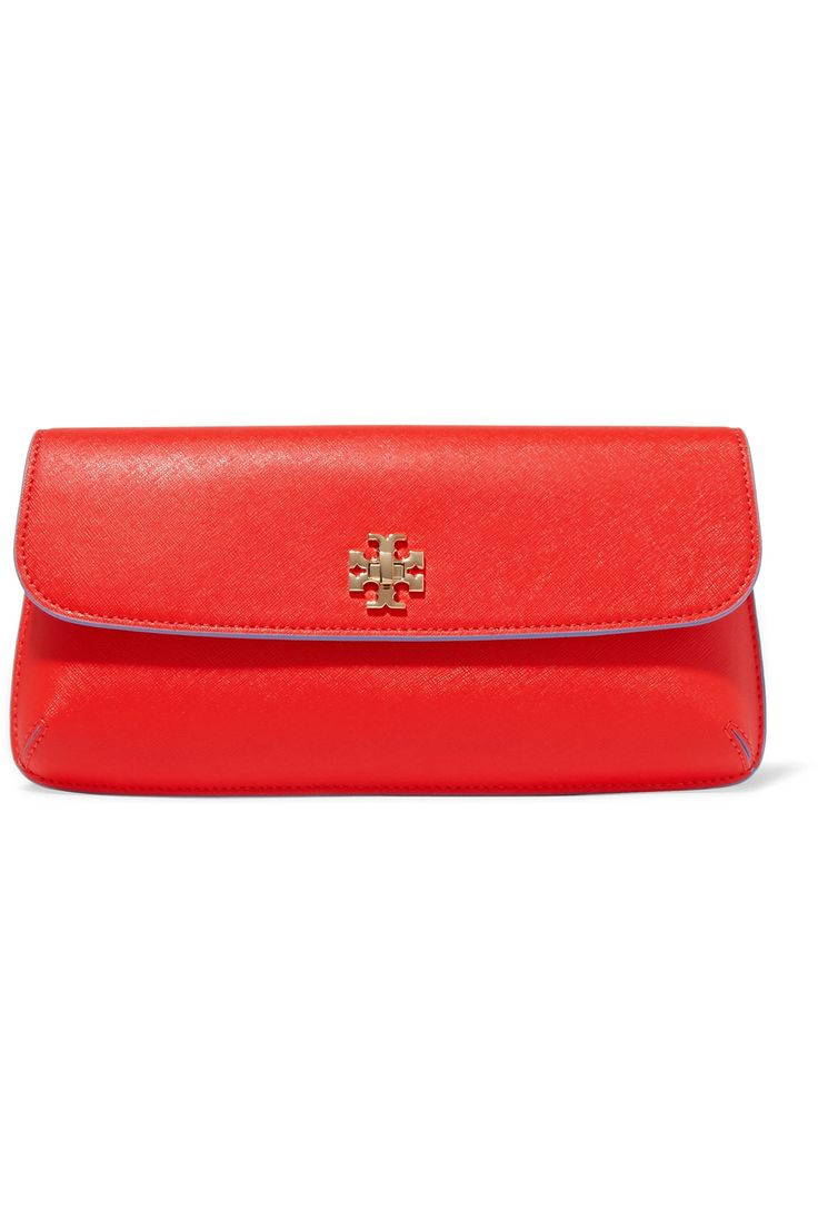 TORY BURCH . #toryburch #bags #leather #clutch #hand bags #