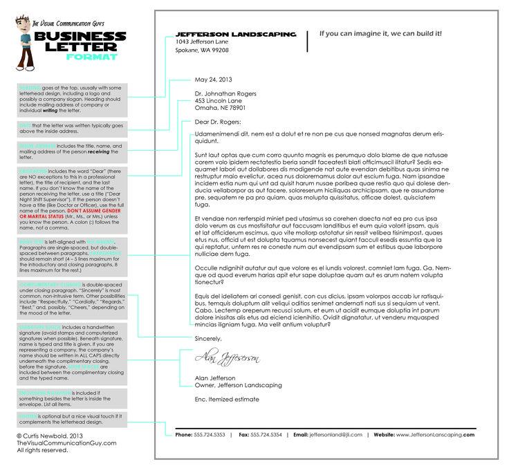 The 25+ best Format of formal letter ideas on Pinterest Formal - professional business letter