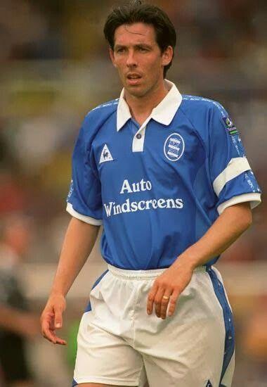 Gary Ablett of Birmingham City in 1996.