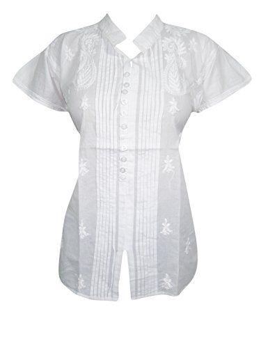 Women's White Tunic Tops Cap Sleeves Hand Embroidered Hip... https://www.amazon.ca/dp/B01LL16MHG/ref=cm_sw_r_pi_dp_x_hppRzb5E6EWNM  #TUNIC #BOHO #FASHION #HIPPIE #SALE #WHITE #GIFT #BOHOHIPPIE #GIFTFORHER