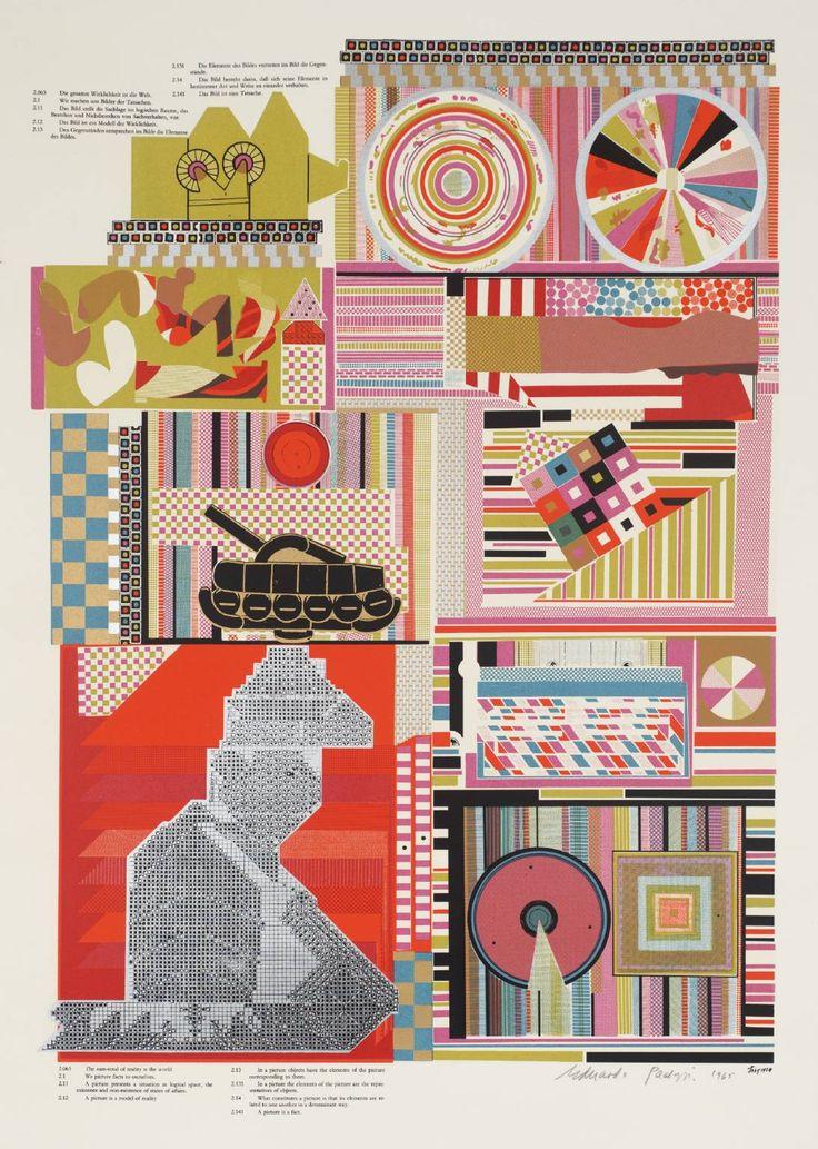Sir Eduardo Paolozzi 'Reality', 1964 © The Eduardo Paolozzi Foundation