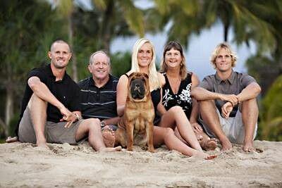 Bethany Hamilton (Soul Surfer) and family