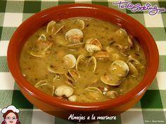 Almejas a la marinera, inspiradas en la receta de Alberto Chicote. Estas almejas siempre quedan estupendas. Prepara el pan para mojar!!