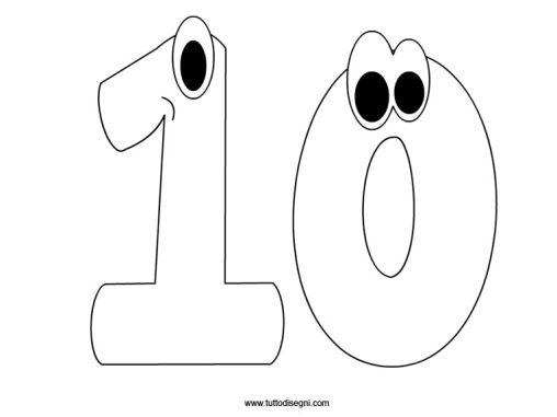 numeri-dieci-da-colorare