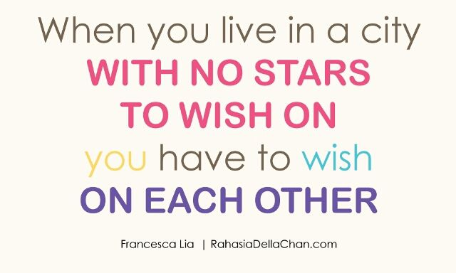 Wish on each other – View on Path.