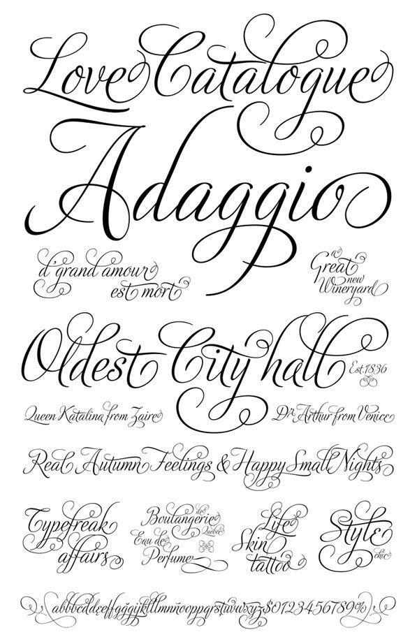 10 Script Fonts You Ll Love Nests Script Tattoo Fonts