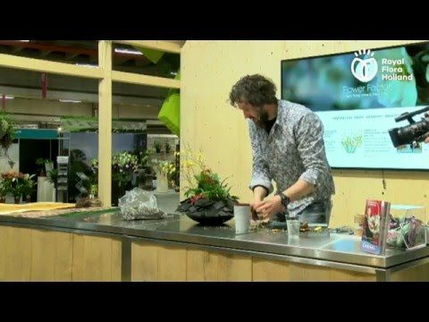 Pink Anthurium Design | Flower factor How to Make | Pim van den Akker - YouTube