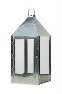 A2 living lanterne Mega - galvaniseret - 40004 - 32x32x70cm