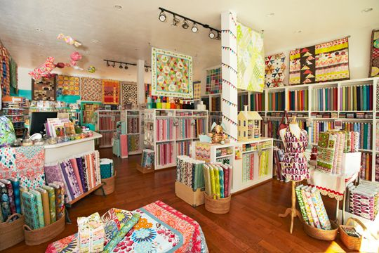 A mother-daughter team showcases colorful, contemporary tastes with a nod to quilting's past at Suppose Quilt Boutique in Preston, Idaho.
