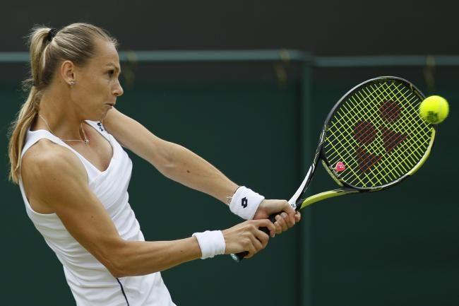 7/2/15 #Wimbledon R2: Magdalena Rybarikova  def. Ekaterina Makarova 6-2 7-5.