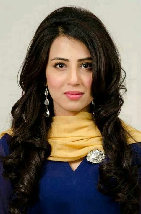 Pakistani actress, Ushna Shah