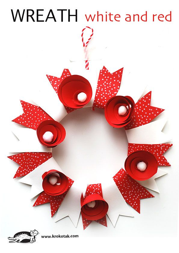 Paper Craft For Kids Make A Paper Wreath Perfect For