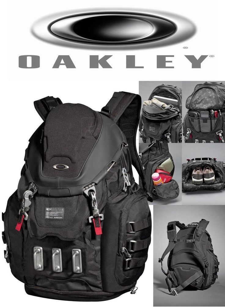 BRAND NEW OAKLEY KITCHEN SINK BACKPACK BLACK 92060 - NWT #Oakley #Backpack