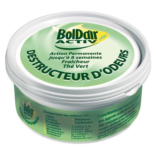 Gel destructeur d'odeur - thé vert - 300 g - BOLDAIR