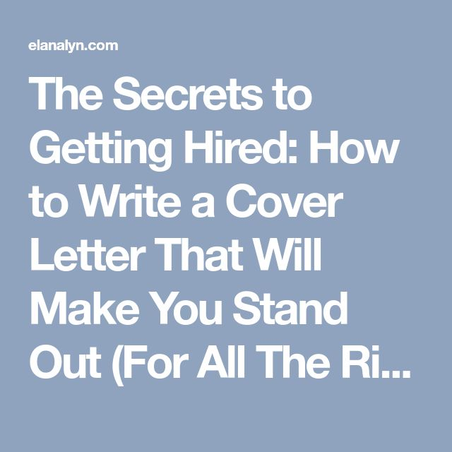 Best 25+ Writing a cover letter ideas on Pinterest Cover letter - how to write a