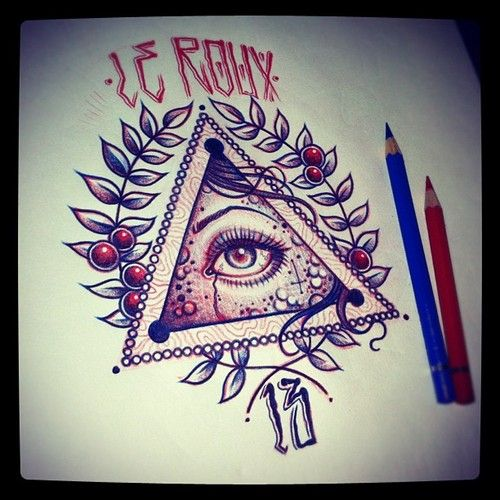 american traditional all seeing eye tattoo - Google Search