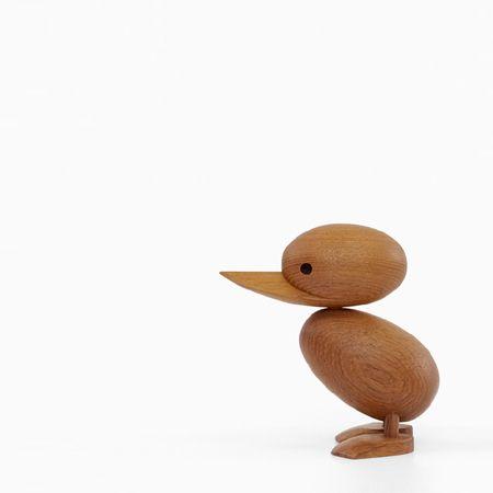 ハンス・ブリング ダックリング Hans Bolling Duckling 子アヒル 木製玩具 フィギュア 木のオブジェ インテリア 人形 置物 北欧雑貨 ジェネリックリプロダクト 干支 鳥 酉 縁起物 西海岸 ヴィンテージ チーク 可愛い お洒落 ディスプレイ 玄関 リビング