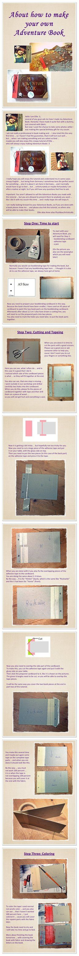Adventure Book Tutorial I by =Plushbox on deviantART  How to make ther Adventure Book from UP