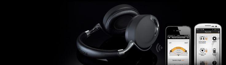 Parrot Zik, the most advanced headphones, sounds pretty good to me!