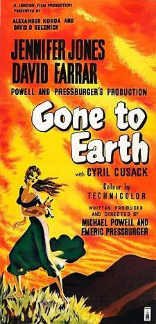 Gone to Earth (1950 - Michael Powell and Emeric Pressburger) 4/10