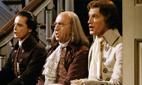 1776; This film from 1972 is still an engaging way to teach 5th graders about the writing of the Declaration of Independence.