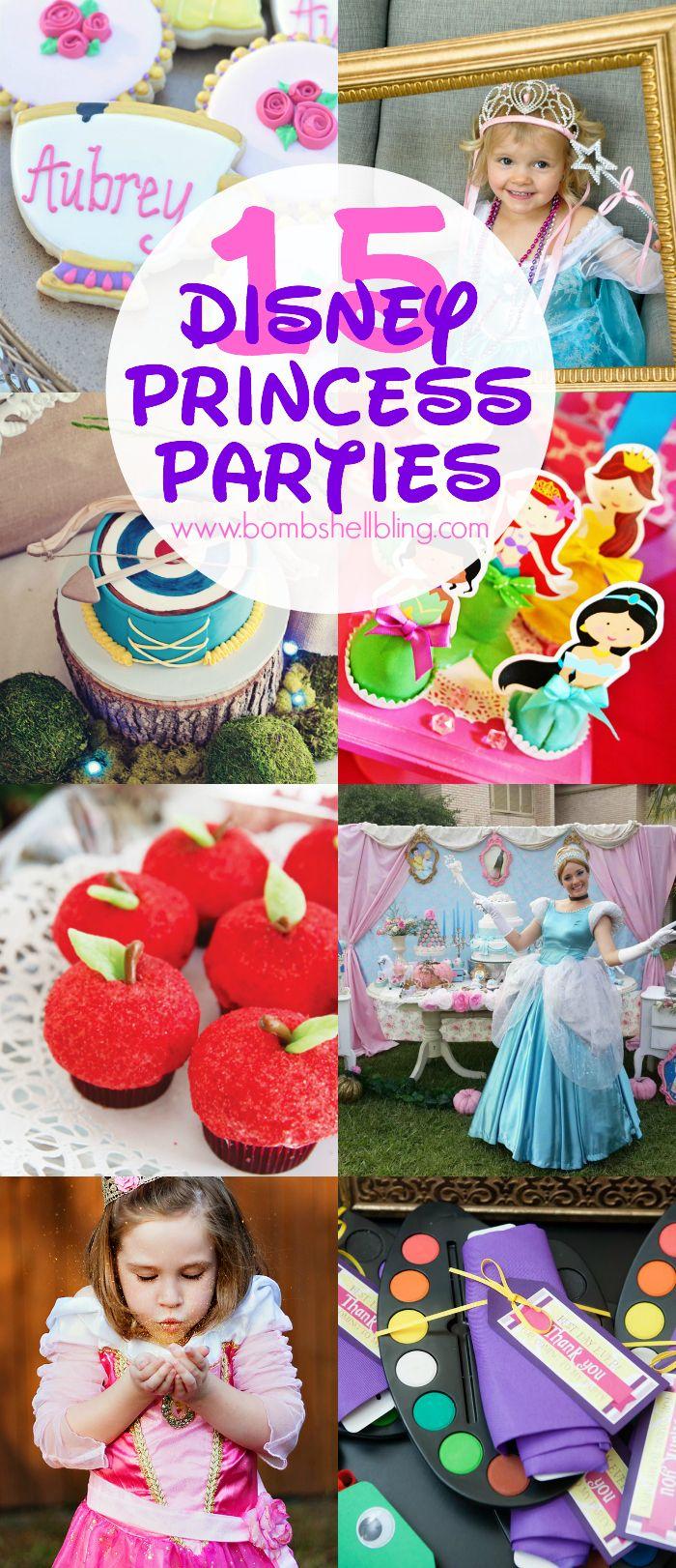 15 Perfect Disney Princess Parties - CUTEST! #disney #princess #disneyprincess