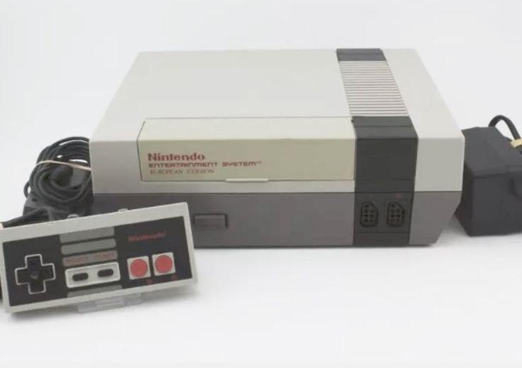 Nintendo 8-bit NES konsol normalt skick