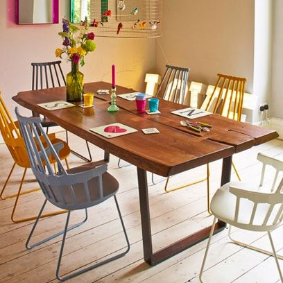 Dining Room Decorating Ideas Graham And Green Kartell Chairs