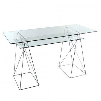M s de 25 ideas incre bles sobre mesa caballete en - Mesa transparente ikea ...