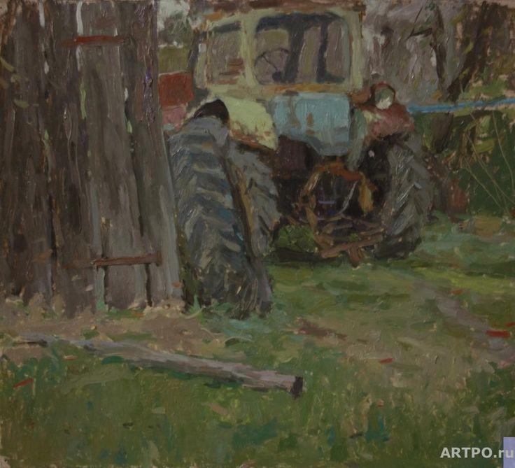 Артищук Артем. Старый трактор в Шабановском