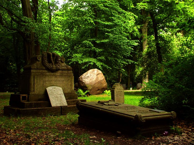 The Central Cemetery In Szczecin