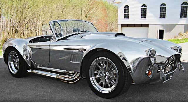 Classic Mustang Forum + Classified Ads :: View topic - Polished Aluminum Shelby 427FE Cobra