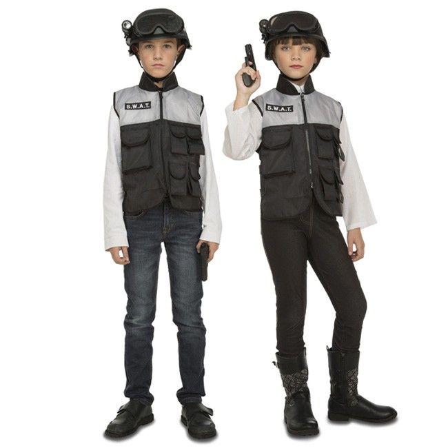 Disfraz de Policía SWAT con accesorios para niños #disfraces #carnaval #novedades2017