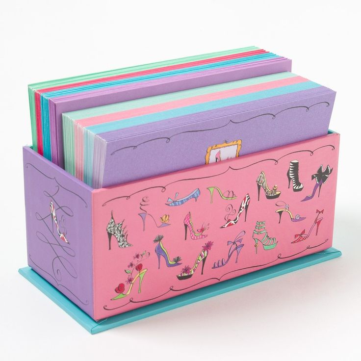 Shoes & Purses Assorted Notes w/ Caddy Box Price $24.95