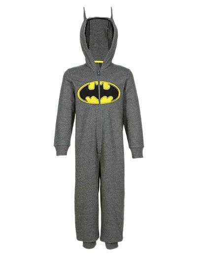Batman Sweat Hooded Onesie