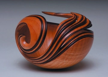 Leon Lacoursiere    Katrina, 2006, Curly Maple.