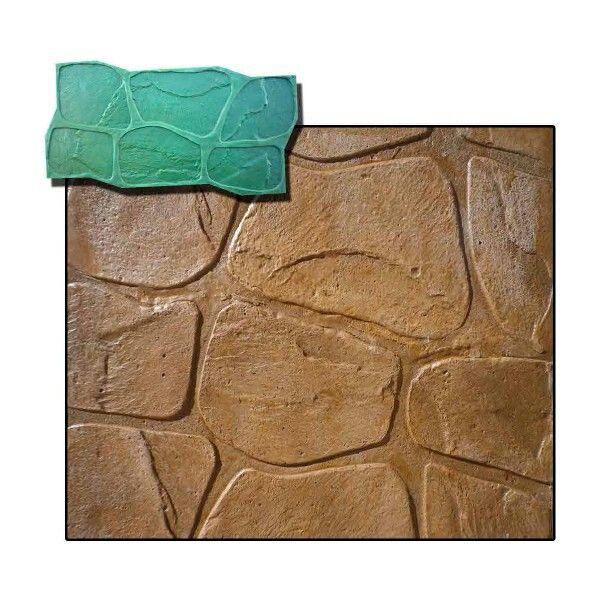 Stampo per muro stampato