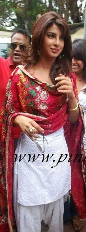 Phulkari Punjabi Suit