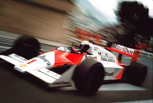 Alain Prost - Monaco 1987