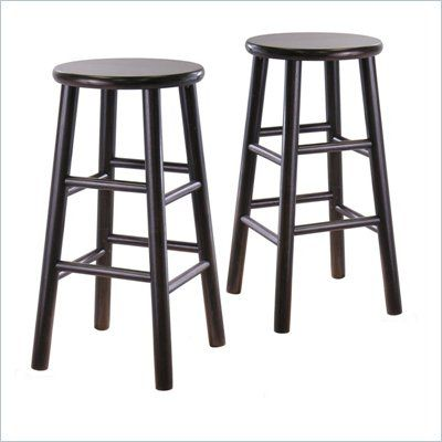 I've been looking for some dark counter height stools - wow have they gotten expensive!!!!!