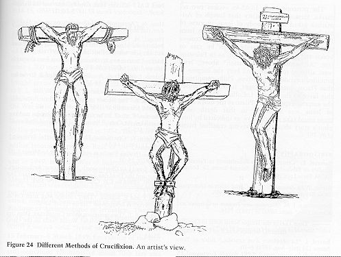 roman crosses for crucfixtion | ... to punishment by crucifixion roman crucifixion normally consisted