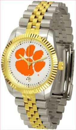 "Clemson Tigers ""The Executive"" Men's Watch SunTime. $143.85"