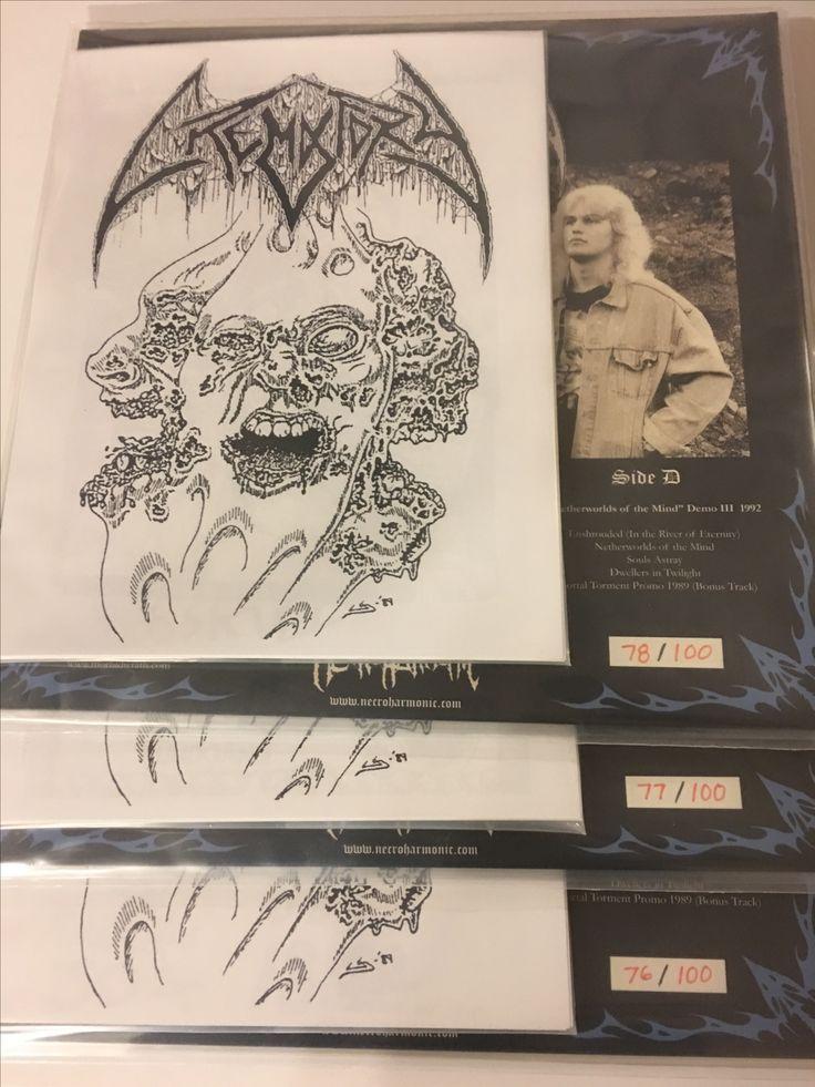 #Crematory #swedishdeathmetal #deathmetal #necroharmonic Limited edition to 100 copies #vinyl