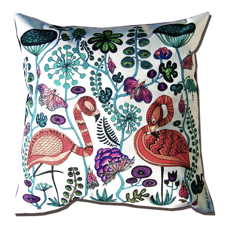 decorative designer pillow,cushion by Anna Strom design of Norway AS www.fabelskog.no