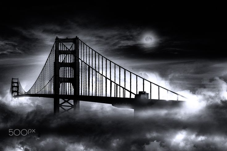 GOLDEN GATE B&W -
