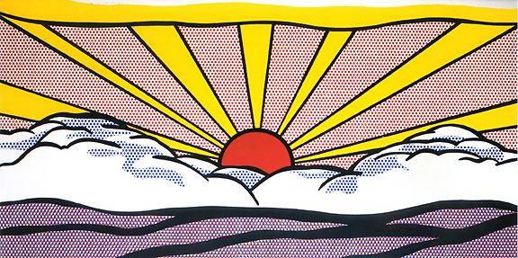 roy-lichtenstein-sunrise                                                                                                                                                                                 Plus