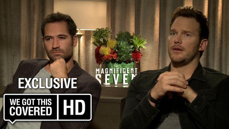 Exclusive Interview: Chris Pratt and Manuel Garcia-Rulfo Talk The Magnif...