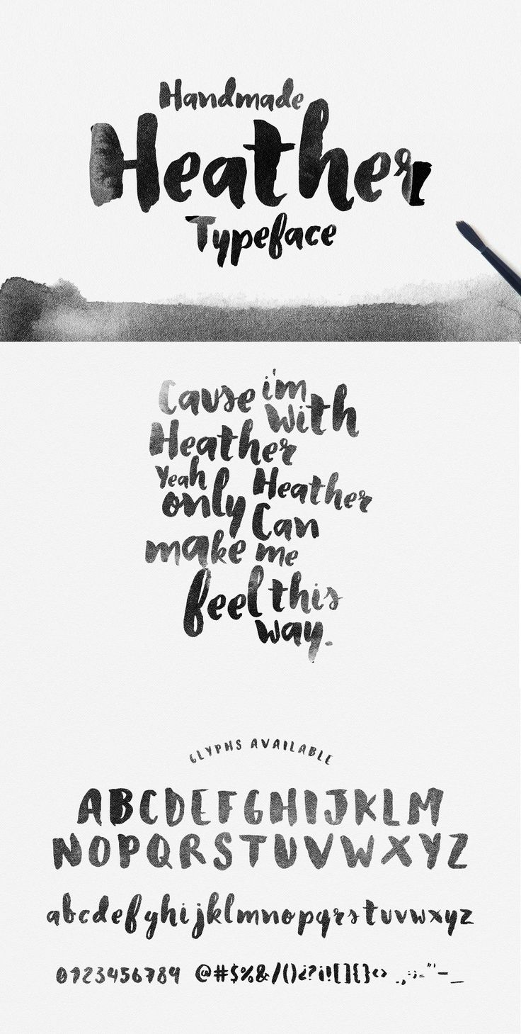 Heather Typeface by Nº on Creative Market