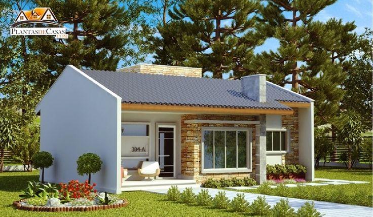 Projeto arquitet nico casa ribeir o preto c d 304a r for Casa moderna 60 m2